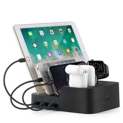 AU59.99 • Buy 6in1 Charging Dock Fast Charging Station For Airpods IWatch IPhone IPad AU Stock