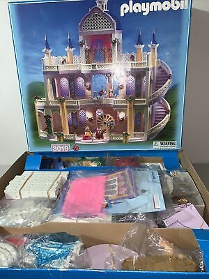£251.65 • Buy Playmobil 3019 Fairytale Princess Castle Sealed Bags RARE 1998 Open Box Poster