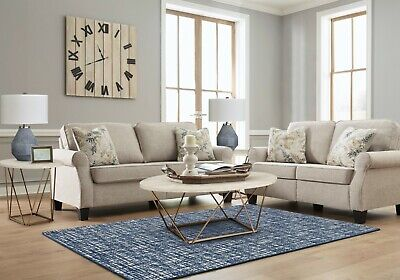 $995 • Buy Ashley Furniture Alessio Sofa And Loveseat Living Room Set