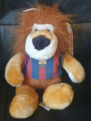 £4.99 • Buy Official FC Barcelona Lion Mascot - Tagged - Approx 30cm -