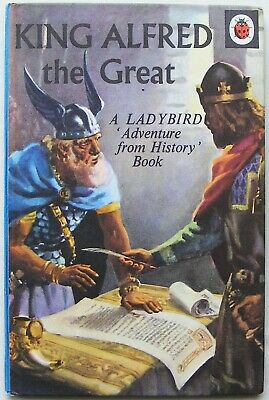 £9.99 • Buy Vintage Ladybird Book – King Alfred The Great – History 561 – Near To Fine