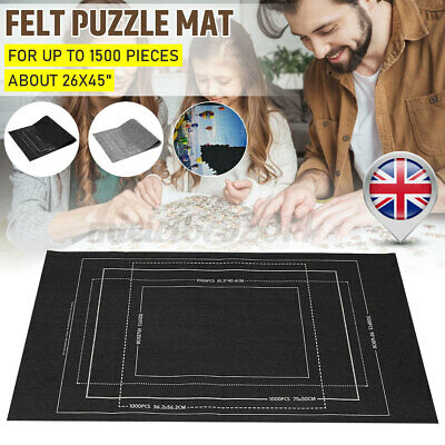 £8.49 • Buy Kids Jigsaw Puzzle Storage Mat Roll Up Puzzle Felt Storage Pad Up To 3000 Pieces