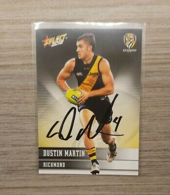 AU99.95 • Buy Richmond Tigers - Dustin Martin Hand Signed 2012 Select Card