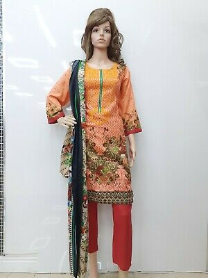 £11.50 • Buy Asim Jofa A23 Khaddar 3pcs Suit Embroidered With Shawl Stitched