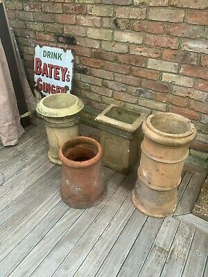 £80 • Buy Antique Garden Chimney Pots For Plant Displaying
