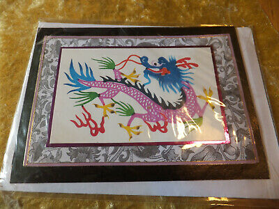 £2.49 • Buy Hand Painted Chinese Dragon Hand Made Birthday Card