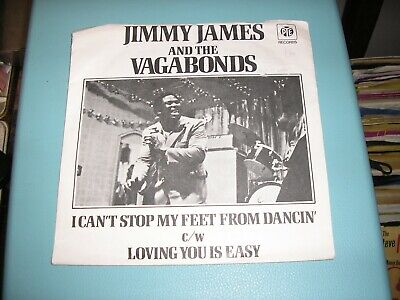 £6.99 • Buy Jimmy James & Vagabonds I Can't Stop My Feet From Dancin' / Loving You Pye