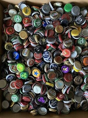 £13.80 • Buy 200 Used Beer Soda Bottle Top Caps Man Cave Or Crafts Project