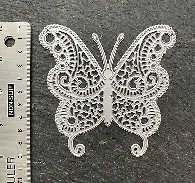 £4.99 • Buy Butterfly Metal Die Insect Animal Large Dragonfly Filigree Fun Birthday