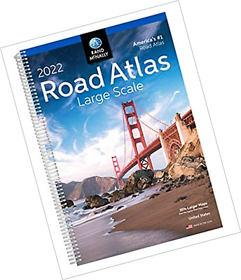 £13.22 • Buy Rand Mcnally USA Road Atlas 2022 BEST Large Scale Travel Maps United States New