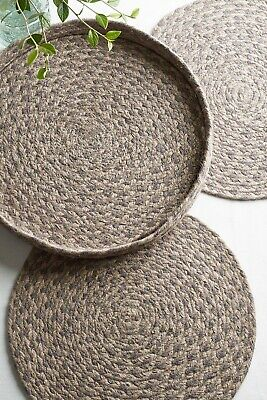 £19.99 • Buy RRP £26 NEXT Set Of 4 Jute Placemats In A Holder
