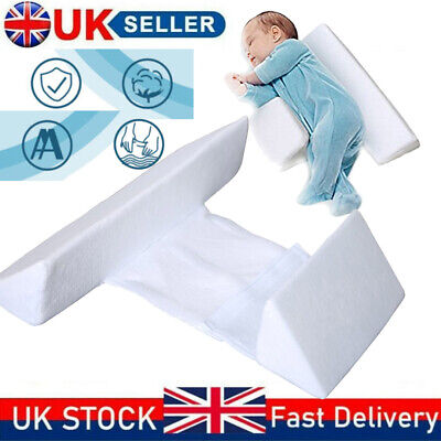£12.58 • Buy Baby Side Sleep Pillow Support Wedge Adjustable Infant Anti-roll Cushion