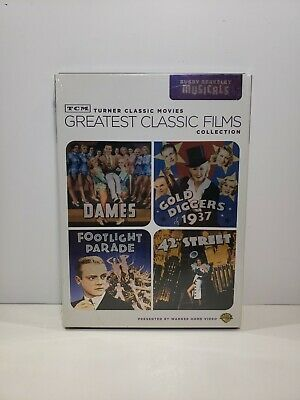 £11.63 • Buy TCM Greatest Classic Films Collection: Busby Berkeley Musicals (DVD, 2010,...
