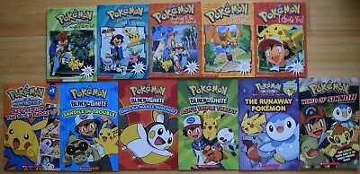 $30 • Buy Lot Of 11 Pokemon Books By Scholastic Including I Choose You, Etc, PC/VGC