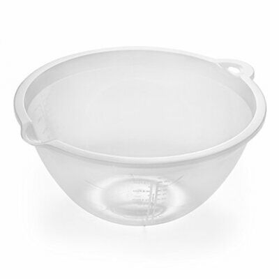 £3.39 • Buy Large Sized Food Preparation Clear Mixing Kitchen Cooking Bowl 4 Liter-(1 Pack)