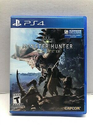 AU17.35 • Buy Monster Hunter World - PlayStation 4 - Complete Tested Working - Free Ship