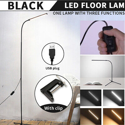 AU42.99 • Buy Modern LED Floor Tripod Lamp Stand Reading Light Table Desk Home Office Dimmable