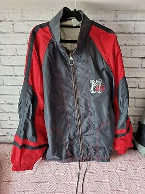 £24.99 • Buy Vintage 80s Nike Silver Label Athletic Jacket Track Top With Spell Out Fits XL