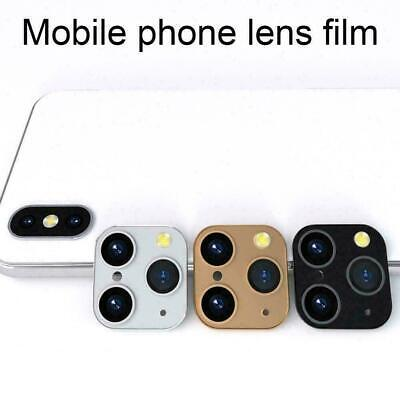 £1.56 • Buy Luxury Fake Camera Lens Sticker Cover For IPhone XS IPhone Change To 11 MAX B6S7
