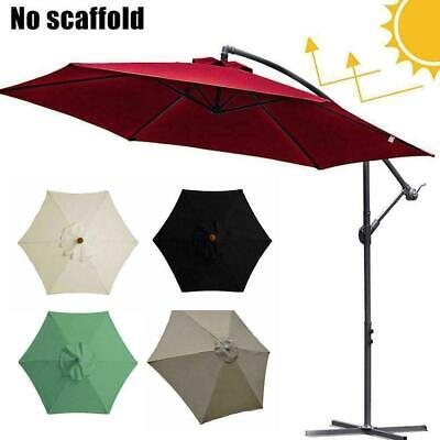 AU20.51 • Buy 2m Replacement Fabric Garden Parasol Canopy Cover For 6 Arm Umbrella F3Z4
