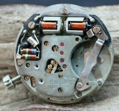 £25.62 • Buy Bulova 2180 Accutron Movement Untested For Spares Or Repair (r3z)