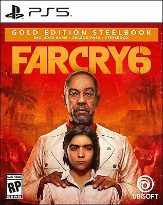 AU128.57 • Buy Far Cry 6 SteelBook Gold Edition With Season Pass (PlayStation 5 PS5) Pre-Order