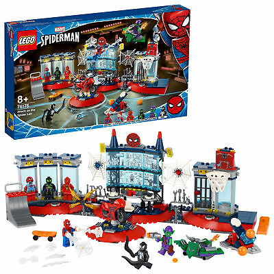 £57.74 • Buy LEGO Marvel Spider-Man Attack On The Spider Lair Set 76175/466 PCS Age 8+