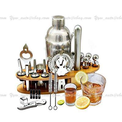 £21.99 • Buy 23-Piece Stainless Steel Cocktail Shaker Set 750ml Drink Mixing Bartender Kit