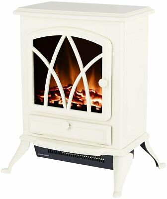 £74.99 • Buy Warmlite WL46018C Stirling Portable Electric Fire Stove Heater With LED Flame