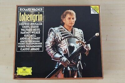 £16.90 • Buy Richard Wagner - Lohengrin Conducted By Claudio Abbado 1994 3x CD UNPLAYED