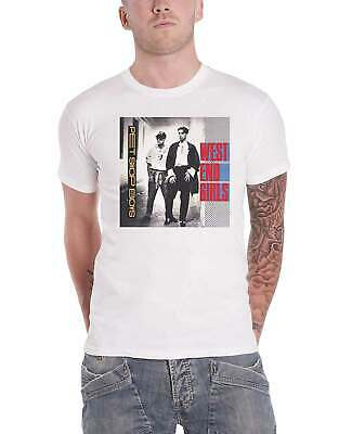 £15.99 • Buy Pet Shop Boys T Shirt West End Girls Band Logo New Official Mens White