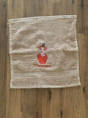 £3.07 • Buy Personalised Winnie The Pooh Piglet Apple Face, Hand , Bath Towel Colour Choice