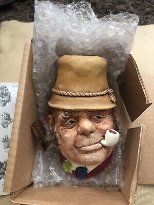 £15 • Buy Bossons Head ,Rare Collectable Boxed C/w Tag . 1969 Wall Sculpture.