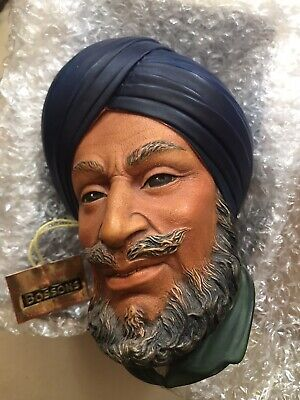 £10 • Buy Bossons Head ,Rare Collectable Boxed C/w Tag . The Character, Wall Sculpture.