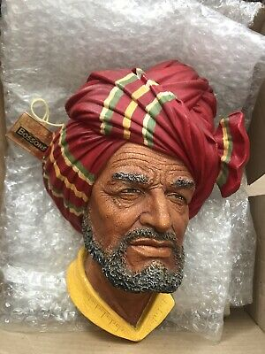 £13 • Buy Bossons Head ,Rare Collectable Boxed C/w Tag . 1960 Character Wall Sculpture.