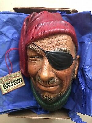 £13 • Buy Bossons Head ,Rare Collectable Boxed C/w Tag . The Seafarers Wall Sculpture.