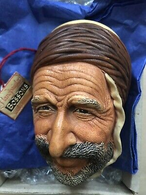 £13 • Buy Bossons Head ,Rare Collectable Boxed C/w Tag . 1961 Wall Sculpture.