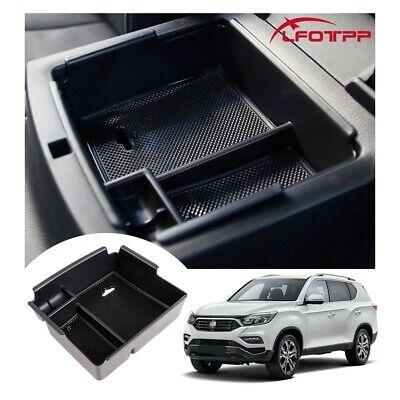 AU23.84 • Buy LFOTPP Car Center Console Storage Box Organizer Tray For 2021 SsangYong Musso