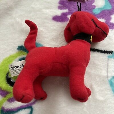 £4.99 • Buy Z5 Mcdonalds Soft Toy Plush Clifford The Big Red Dog 2003 Figure Character Rare