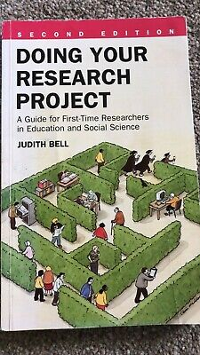 £4.99 • Buy Doing Your Research Project: A Guide For First-time Researchers In Education .