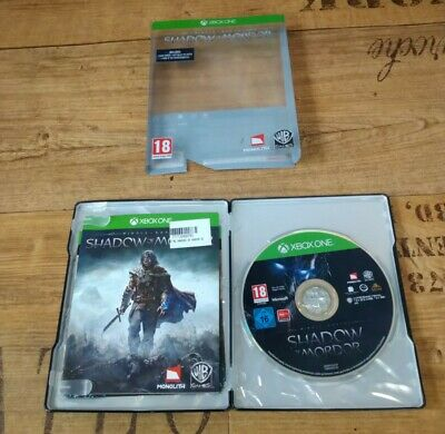 £9.95 • Buy Middle Earth Shadow Of Mordor Special Edition Steelbook Microsoft Xbox One