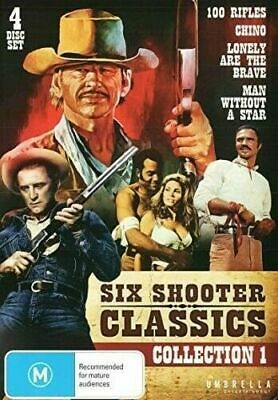 £19.99 • Buy Six Shooter Classics Collection 1 DVD 4 Westerns Chino 100 Rifles Kirk Douglas