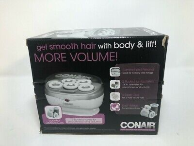 £17.45 • Buy Conair Instant Heat Travel 1.5-Inch Hot Rollers, White, 5 Count