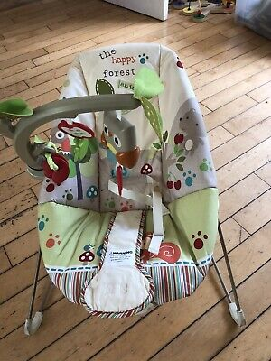 £10 • Buy Fisher-Price Happy Forest Vibrating Bouncer