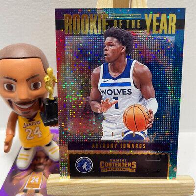 AU59.99 • Buy Rookie Of The Year 2020-21 Panini Contenders Anthony Edwards NBA Card RC #15