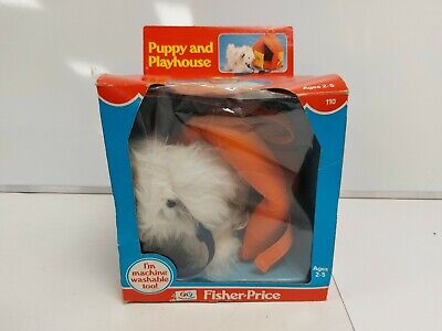 £9.99 • Buy Puppy And Playhouse Fisher-Price Soft Toy With Play House #202