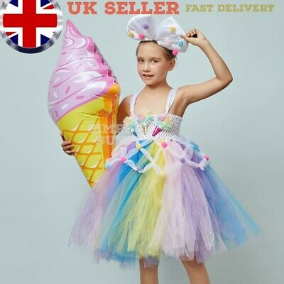 £2.09 • Buy 2xInflatable Ice Cream 48cm Toy Loot Party Bag Fillers Kids Novelty Summer Cone