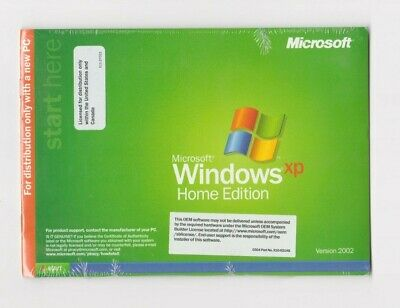 £87.01 • Buy  2002 Lot Of 4 Sealed Microsoft Windows XP Home Edition