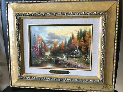 £13.50 • Buy Thomas Kinkade Accent Print Picture - Valley Of Peace Framed