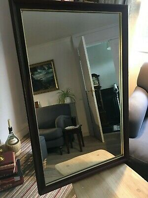£10 • Buy Stag Minstrel Large Mahogany Mirror Bought From John Lewis.. Poss Delivery Nottm